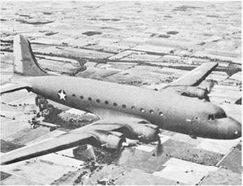 (1951) L'airmiss du Vol 124 C54