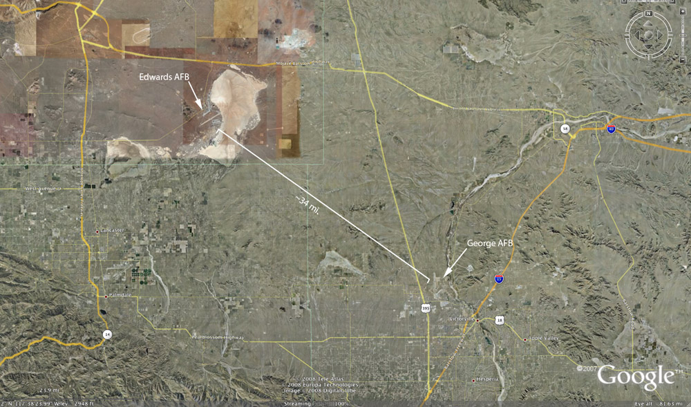 Edwards AFB Incident Oct 7 1965
