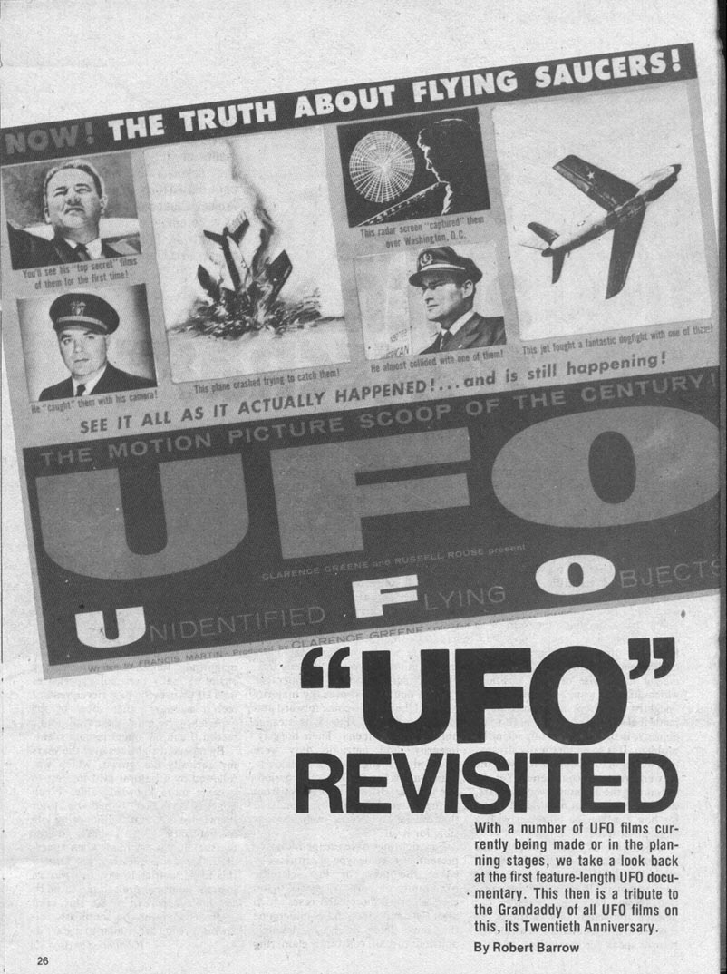 cover Official UFO magazine