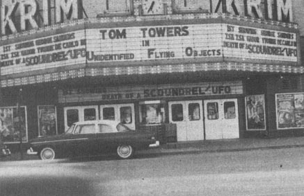 photo of KRIM Theater marquee